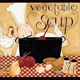 ダン DiPaolo によってスープ鍋ポスター印刷
