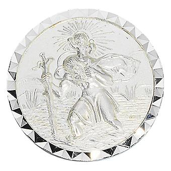 Car badge 925 Silver Christopher of Patron Saint