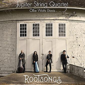 Dvorak / Taylor / Jupiter Strygekvartet / Davis - Rootsongs [CD] USA import