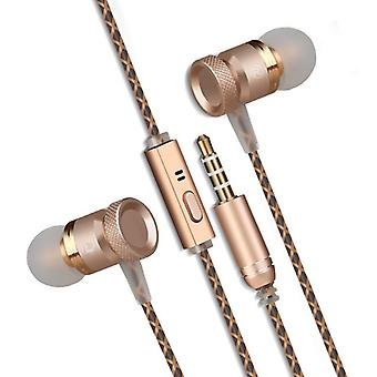 [REYTID] In-Ear Earphones Headphones, High Definition Sound, Heavy DEEP Bass with Metal MIC for iPhone, iPod, iPad, Android, PC, Mac, Smartphones, Tablets, Samsung, HTC, Sony, LG & more!