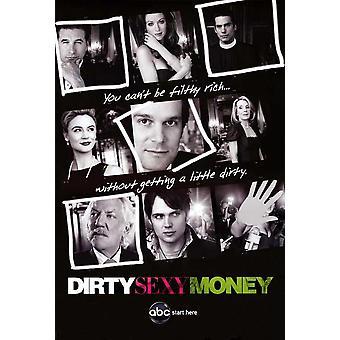 Sucio dinero Sexy (TV) Movie Poster (11 x 17)