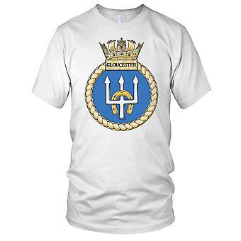 Royal Navy HMS Gloucester Kids T Shirt