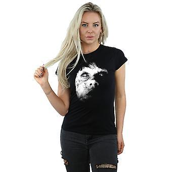 The Exorcist Women's Regan Demon Face T-Shirt