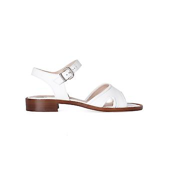 Franca women's 9952D White Leather sandals