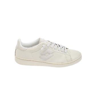 Lotto men's T0814WHITE White leather of sneakers