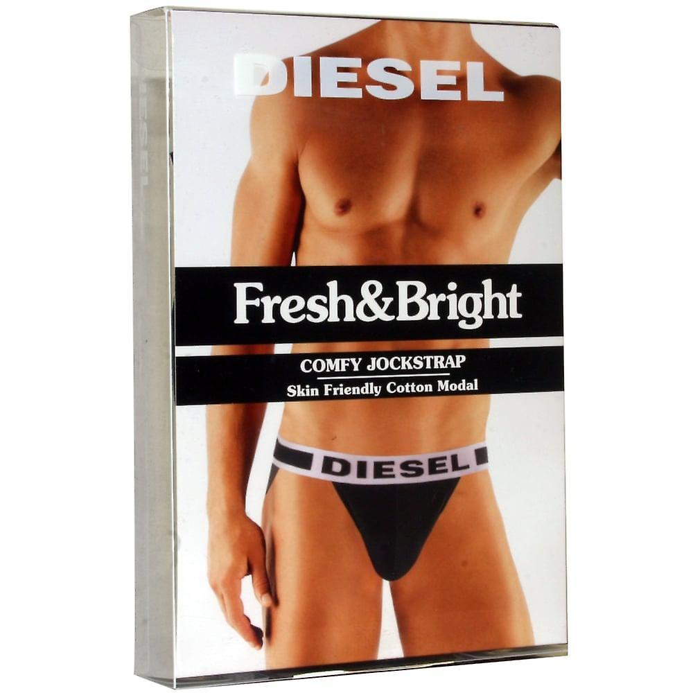 Diesel New Hero-Fit Jockstrap, Black