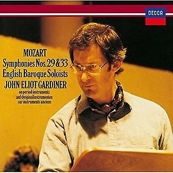 John Eliot Gardiner - Mozart: symfonie nr 29 & nr 33 [CD] USA import