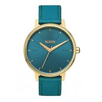Nixon The Kensington Leather Light Gold / Mallard (A1082816)