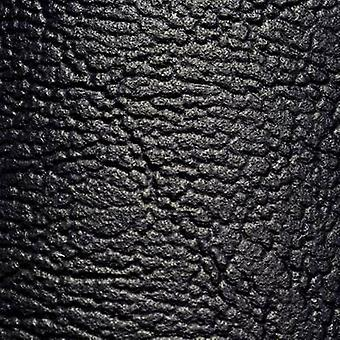 Faux leather Black (L x W) 140 cm x 75 cm Sinuslive 1 pc(s)