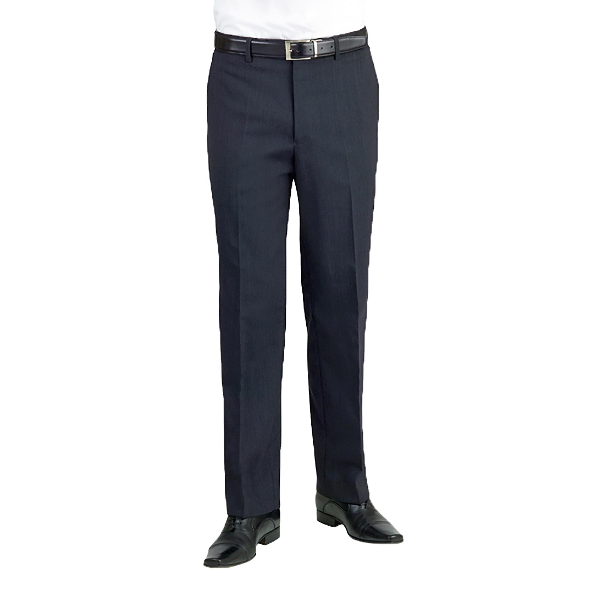 Brook Taverner Apollo Flat Front Formal Suit Trousers