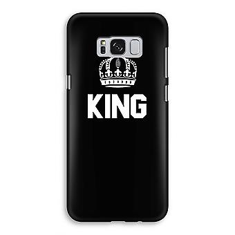 Samsung Galaxy S8 Full ut Case - King svart