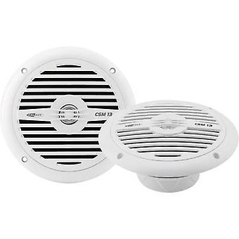 2 way coaxial flush mount speaker kit 120 W Caliber Audio Technology CSM13 NEW