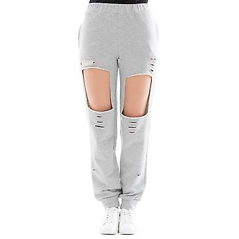 Forte Couture ladies FC1SS1873GREY grey cotton joggers