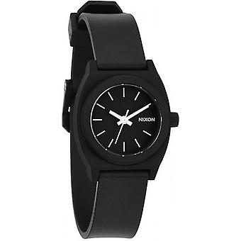 Nixon The Small Time Teller P Watch - Black