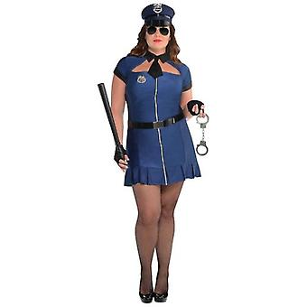 Amscan Bad Police Adult Costume Plus (Babies and Children , Costumes)