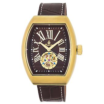 Burgmeister BM247-295 Morelia, Gents automatic watch, Analogue display - Water resistant, Stylish leather strap, Classic men's watch