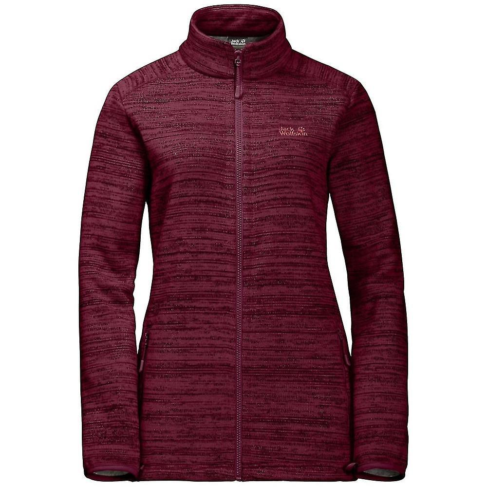 Jack Wolfskin Womens Aquila Altis Fleece Jacket Robust with System Zip