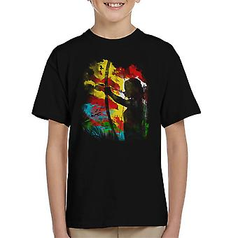 Tomb Raider Bogen und Pfeil Kid-t-shirt