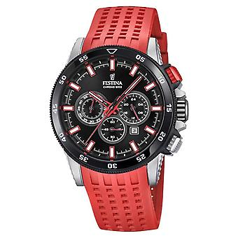 Festina 2018 Chronobike Rubber Strap F20353/8 Watch