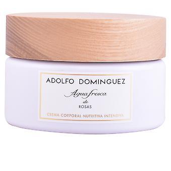 Adolfo Dominguez Agua Fresca De Rosas Cream 300 Gr For Women