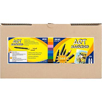 Pro Art Classroom Pack Markers 114 Pieces-Assorted