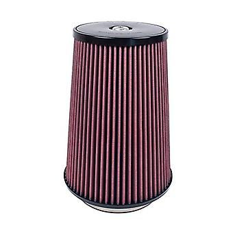 Airaid 700-032 Universal Clamp-On Air Filter: Round Tapered; 5.5 in (140 mm) Flange ID; 12 in (305 mm) Height; 9 in (229