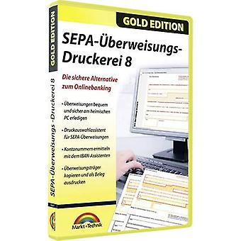 Markt & Technik Überweisungs Druckerei 8 Full version, 1 license Windows Finance & Accounting