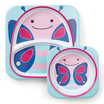 Nikidom Zoo Sets Butterfly (Childhood , Mealtime , Children's Tableware)