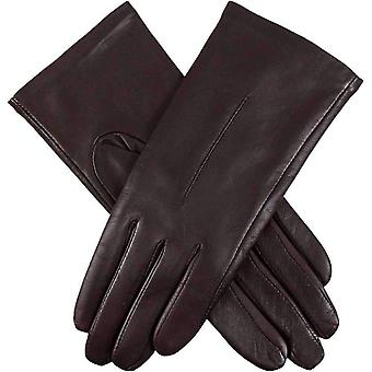 Dents Poppy Hairsheep Leather Gloves - Mocca Brown