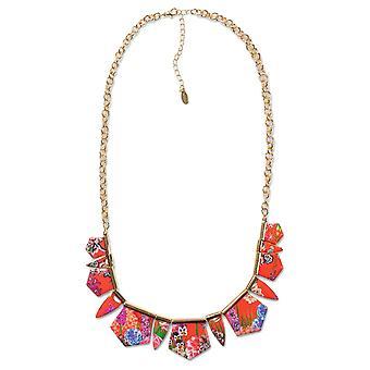 Desigual women's Necklace Ketting kraag geo ikebana 73G9EE3/3074