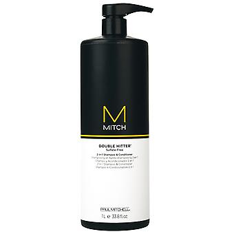 Paul Mitchell Double Hitter 2 in 1, 1000 ml