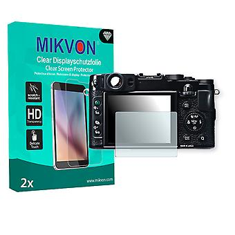 Fujifilm X20 Screen Protector - Mikvon Clear (Retail Package with accessories)