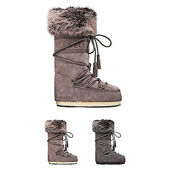 Unisex Adults Tecnica Moon Boot Velvet Winter Snow Rain Warm Knee Boot
