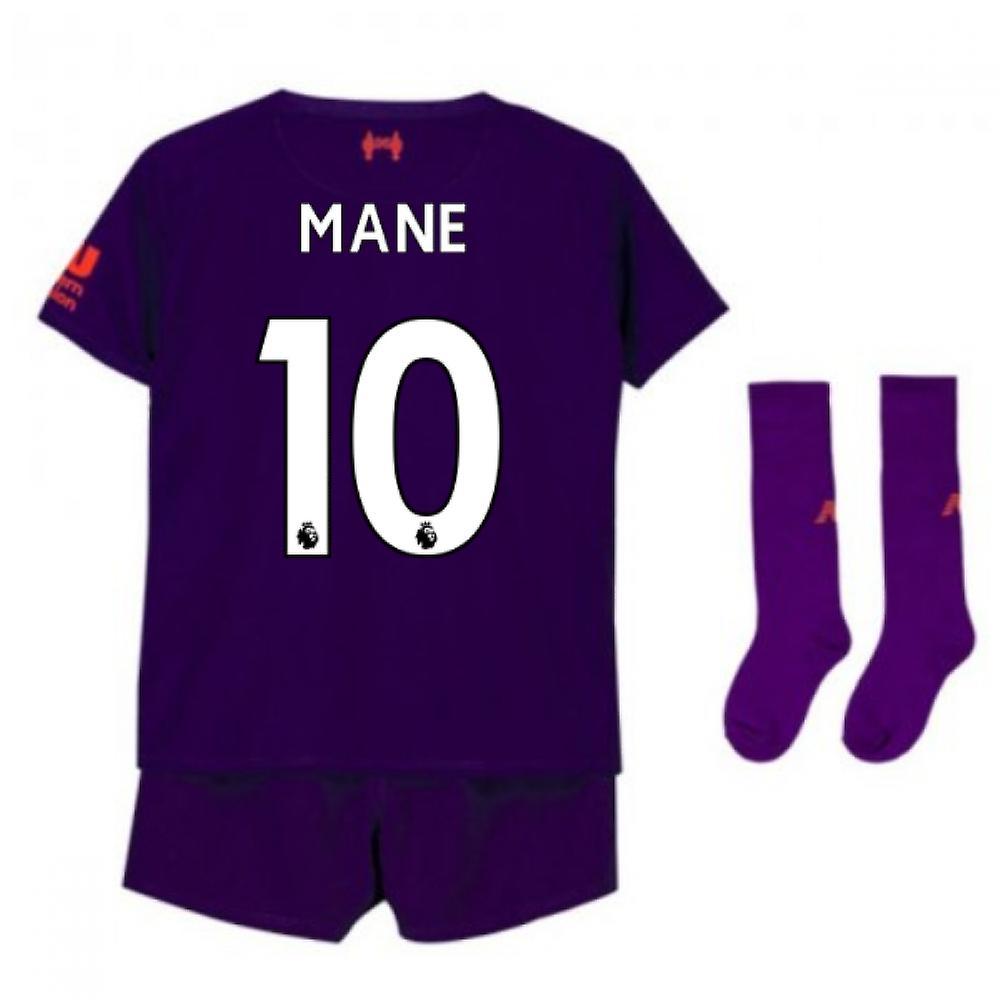 2018-2019 Liverpool weg kleine jongens Mini Kit (Mane 10)