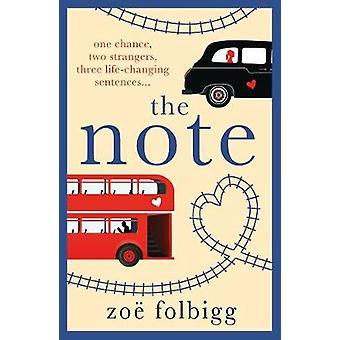 Noteringen av Zoe Folbigg - 9781788543606 bok