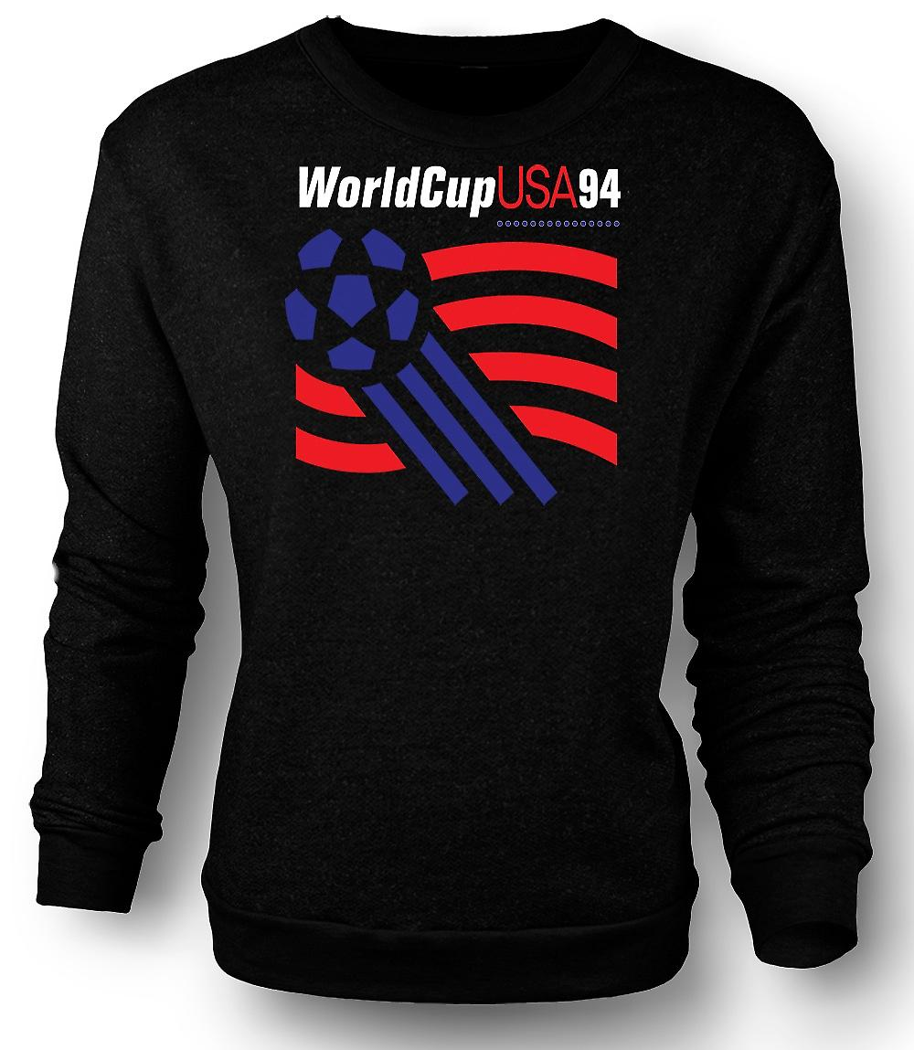 Mens Sweatshirt World Cup USA 94 - fotball-fotball