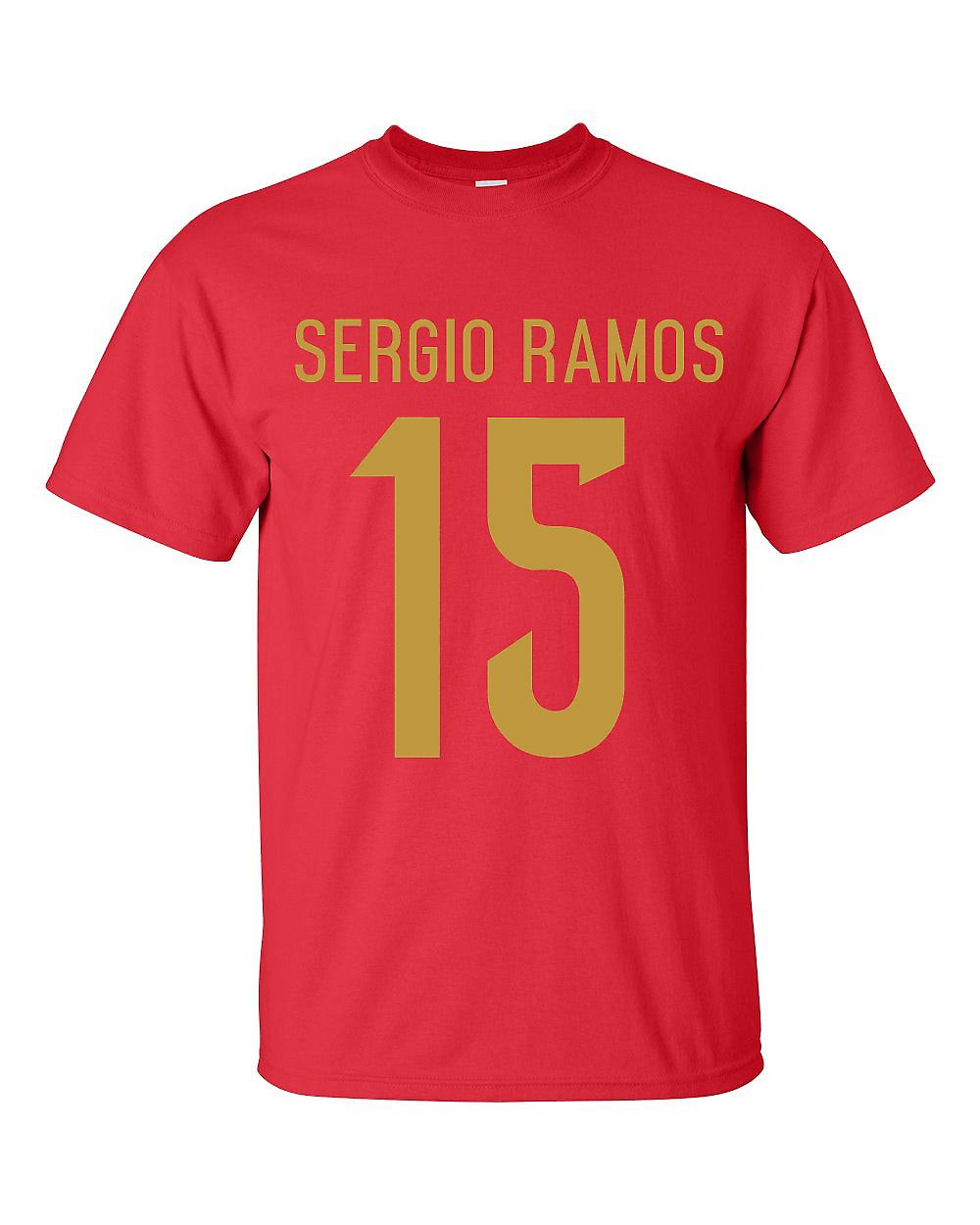 Sergio Ramos Spain Hero T-shirt (red)