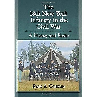 The 18th New York Infantry in the Civil War: A History and Roster
