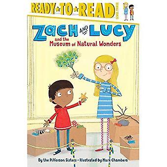 Zach y Lucy y las maravillas del Museo de Natural (listo para leer: nivel 3)