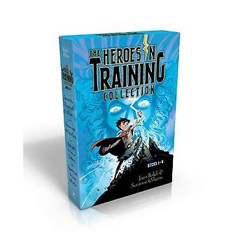 Los héroes en entrenamiento colección, libros 1-4: Zeus y el rayo de Doom/Poseidón y el mar de furia/Hades...