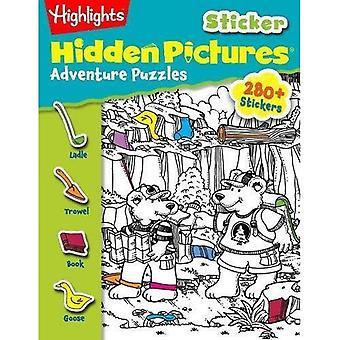 Sticker Adventure Puzzles (Highlights Hidden Pictures)