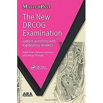 El nuevo examen DRCOG: Ejemplos de preguntas con respuestas explicativas (Masterpass) (Masterpass serie)