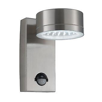 RVS 36 LED buiten muur licht met motiesensor - zoeklicht 9550SS