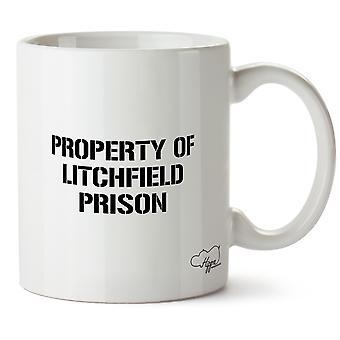 Hippowarehouse eigendom van Litchfield gevangenis 10 oz mok Cup