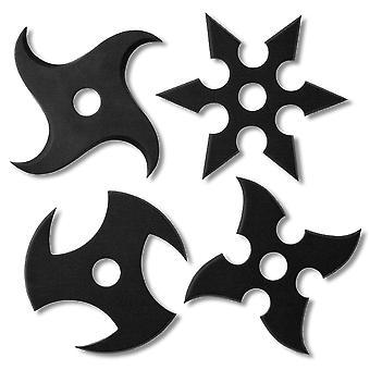 Coasters of coasters-Star Ninja Ninja black, 100% silicone, in blister packs.
