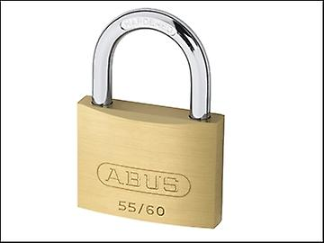ABUS 55/60 60mm Brass Padlock Keyed 5601