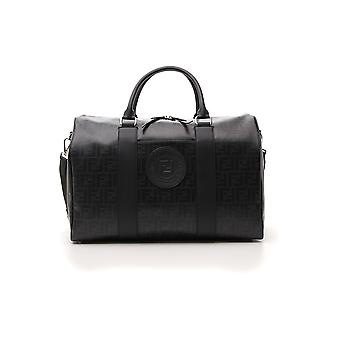 Fendi Black Fabric Travel Bag