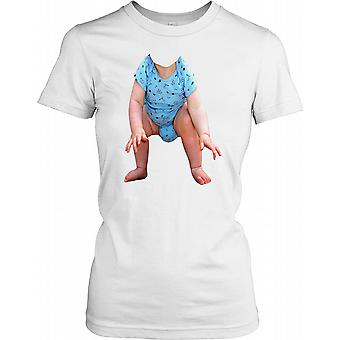 Baby On A T Shirt - Funny Ladies T Shirt