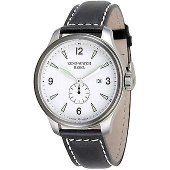 Zeno-watch montre OS Retro blanc sur blanc 8595-6-i2