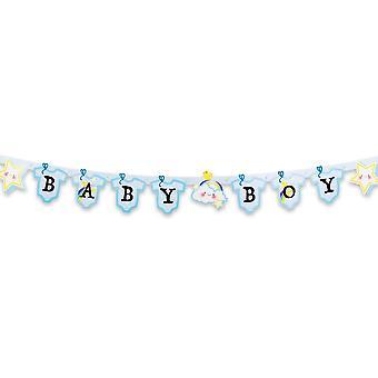Baby Boy Banner 155cm Long New Birth